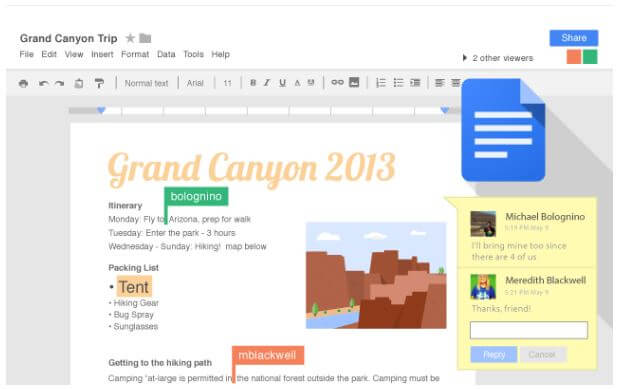 Benefits of using Google Drive