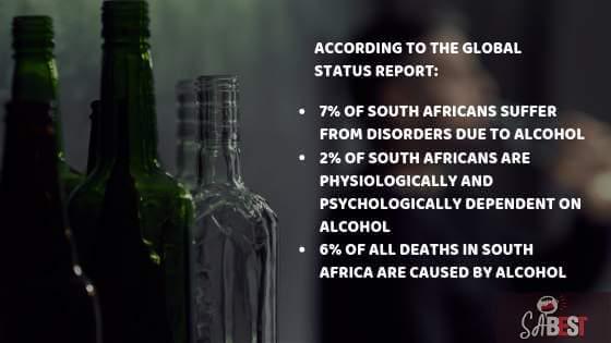 alcohol in SA stats